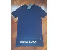 Удлиненная футболка мужская «Алим»