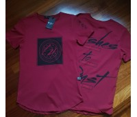 Удлиненная футболка мужская «Азамат»