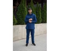 Камис мужской из льна «Амир» Синий