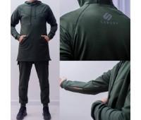 "Мусульманский спортивный костюм №4 ""SAHABA"",  хаки"